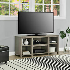 Mainstays MS17D1100696 Parsons Cubby TV Stand - Oak Finish