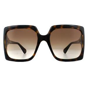 Gucci Sunglasses GG0876S 002 Dark Havana Brown Gradient