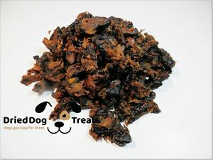 Dried CHICKEN HEARTS - treats chews 100% NATURAL Hypoallergenic snacks POULTRY