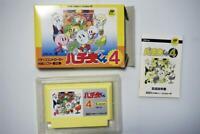 Famicom Pachio-kun 4 boxed Japan FC game US Seller
