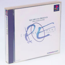 parasite EVE PS1 Sony Japan Import PlayStation PSX SQUARE PS Advantua Very RARE