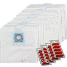 20 x sacchetti per aspirapolvere G per Bosch BBZ BSG MegaAir SUPERTEX GXXL GXL + Filtro + Fresca