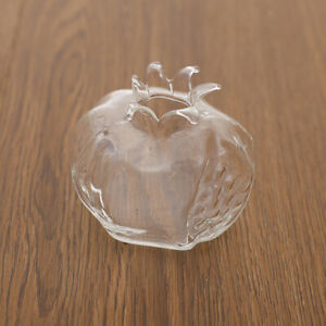 Pomegranate Flower Vase,Glass Vases for Tabletop Plant Glass Vases for Weddings,