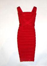 Barbie Fashion Red Haute Bandage Dress  For Model Muse Dolls hf11