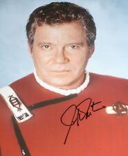 [1000] William Shatner STAR TREK Signed 16x12 Photo AFTAL
