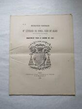Instruction Pastorale de Mgr l'Évêque de Nîmes sur le pardon des injures 1881