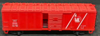 """AHM: HO Scale """"Central New Jersey"""" CNJ #29762 40' BOXCAR, RED, VINTAGE"""