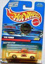 HOT WHEELS 1999 '40 FORD PICKUP #1069 BAD CARD