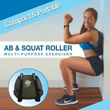 Ab & Squat Exercise Device with Pad Bundle - SmithShaper - 25 Exercises! Core+