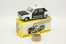 Dinky Toys France 1/43 - Simca 1100 Police 1450 + Boite