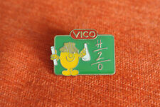 16045 PIN'S PINS VICO POTATOES FRITES ECOLE SCHOOL MATH PHYSIQUE