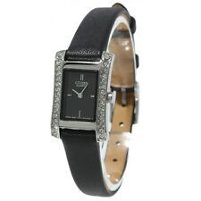 Citizen Black Leather Strap Dress Ladies Watch EZ6310-07E
