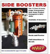 Espace 1999 côté Boosters Résine & Pewter Kit Échelle 1/72 Warp Models