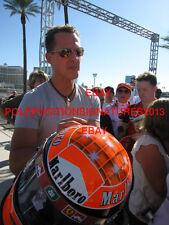 Michael Schumacher Signed Helmet Formula 1 Ferrari Mercedes