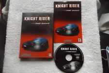 KNIGHT RIDER THE GAME PC CD-ROM V.G.C. FAST POST ( action/adventure game )
