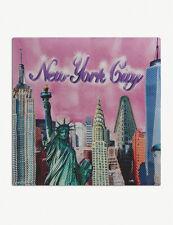 Brand New With Tags BALENCIAGA New York City NYC Silk Scarf Headscarf