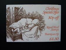 GB STAMP BOOKLET. CHRISTMAS. £2 30. SG REF. FX7. 1984