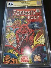 Fantastic Four 77 cgc ss 9.6 Stan Lee & Sinnott Silver Surfer Galactus Highest
