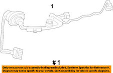 Jeep CHRYSLER OEM-Engine Control Module ECM PCU PCM Wiring Harness 68360247AA