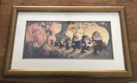 """Snow White """"HEIGH HO"""" Rare And Beautiful Film Cell, 91 of 275"""