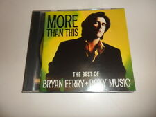 CD  Bryan Ferry +  Roxy Music – More Than This - The Best Of Bryan Ferry + Roxy