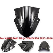 Motorcycle Windshield WindScreen For Kawasaki Ninja 300 EX300 2013-2015 2016
