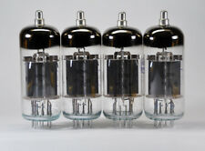 4 x 6P36S / EL500 / 6GB5 RUSSIAN MIL SPEC TETRODE TUBES NEW NOS from 1970's