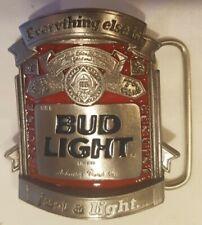 Vintage Buckle Gürtelschliesse/  Budweiser  / Bud Light /  Buckles of America