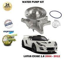 Per Lotus Exige SCC 1.8i Vvtli Vvtlis RWD 6 2004-2012 Kit Pompa Acqua Nuova