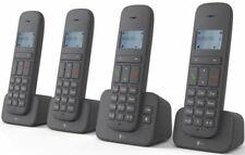 Telekom Sinus CA 37 quattro anthrazit DECT Telefon mit AB Anrufbeantworter NEU
