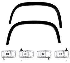 VW TRANSPORTER T3 Mk3 Black Matt wheel arch trims 4pcs left right wing kit 79-92