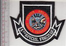Green Beret American Indian Veteran Prairie Island Dakota's 5th Special Forces G