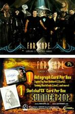 Rittenhouse - Farscape Season 3 Promo Sell Sheet & Promo Card P1