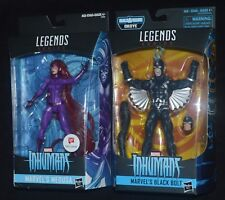 Marvel Legends MEDUSA & BLACK BOLT Inhumans Walgreens Exclusive MIP
