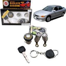 FIT 1996 Mitsubishi Lancer Solex Door Lock Security Safety Flat Key Cylinder