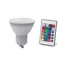 LAMPE LED 4 WATT TENSION 230 VOLT CULOT GU10 AVEC TELECOMMANDE