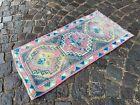 Decor rug, Organic vintage rug, %100 wool handmade, Turkish rug   1,6 x 3,3 ft