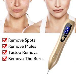 Laser Plasma Pen Freckle Remover Machine LCD Mole Removal Dark Spot Remover Skin
