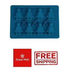 Mini Figures Cake Soap Shape Ice Bricks Cube Cubes Silicone Mold Mould Lego Type