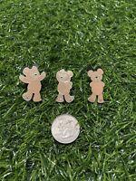 Lot Of 3 Hidden Mickey Collection Disney Pins Duffy The Bear x 3 -Duffy Bear Pin