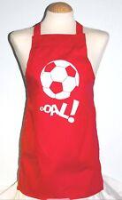 5 - 8 yrs football personalised / printed apron christmas /  birthday present