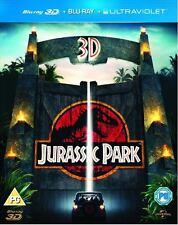 JURASSIC PARK 3D - 2 DISC BLU-RAY - SPECIAL EDITION - STEVEN SPIELBERG