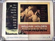 Toward The Unknown (1956) Original US Half Sheet Cinema Poster