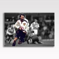 "RYAN GIGGS CANVAS Manchester United FC Utd Poster Print Photo 30""x20"" CANVAS"
