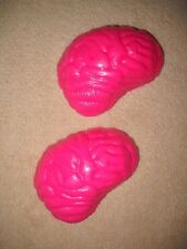 BRAIN 3D CLEAR PLASTIC CHOCOLATE CANDY MOLD H142