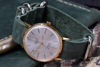 Vintage Poljot De Luxe Ultra Slim Mens watch Luxury Soviet Shockproof watch