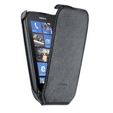 Nokia Lumia 610 CP-574 Etui aspect cuir noir