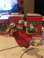 ENESCO CHRISTMAS ORNAMENT: COUNTIN' ON A MERRY CHRISTMAS  Mice in Glove New