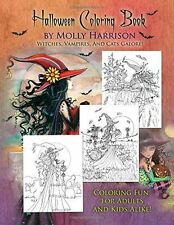 Halloween Coloring Book: by Molly Harrison - 151713577X