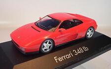 Herpa 1/43 Ferrari 348 tb rot in Plexi-Box #1412